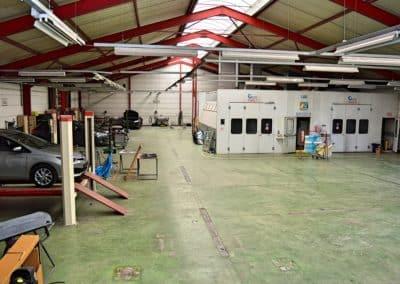 Carrosserie cabine de peinture garage duval