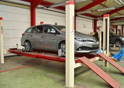 banc de geometrie voiture garage duval