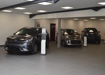 nouveau showroom kia garage duval